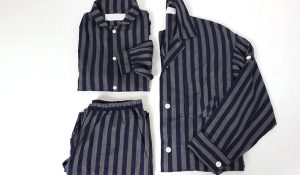 """  sleeper night shirt & pants (stripe)  """