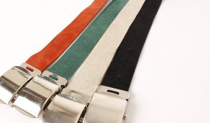 "【unsame】 "" GI SUEDE BELT """