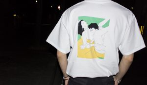 "【kurry】 ""porno graffi tee (back print)"""