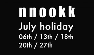【 July holiday 】&【delivery news】