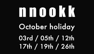 [October holiday ]
