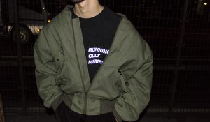 "【LANDLORD】""BOMBER JACKET"""