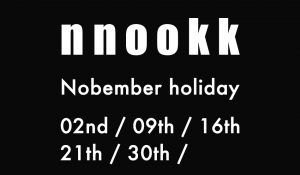 ~ November holiday ~